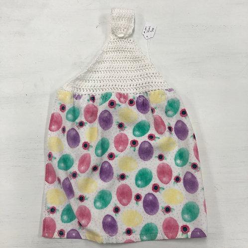Crochet Easter Egg Towel