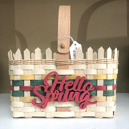 Hello Spring Basket