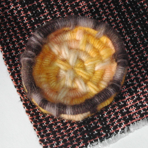 hand dyed ring dish