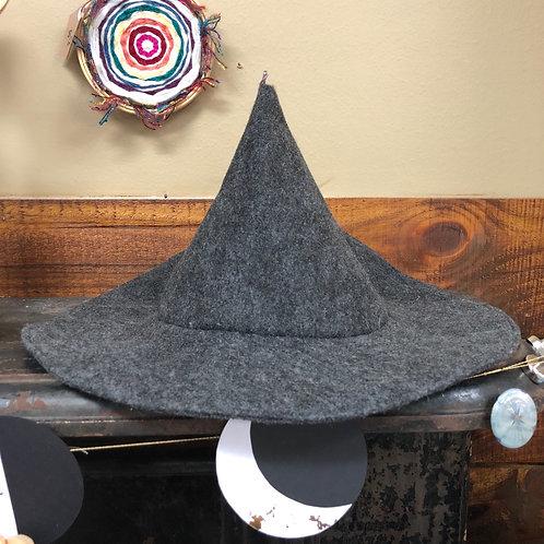 Grey Witch Hat