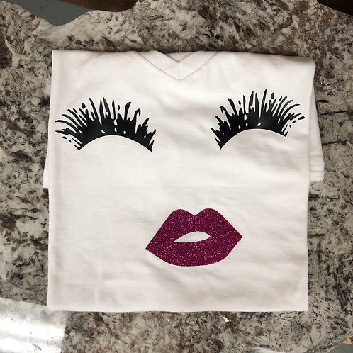 Lashes and Lips T-Shirt