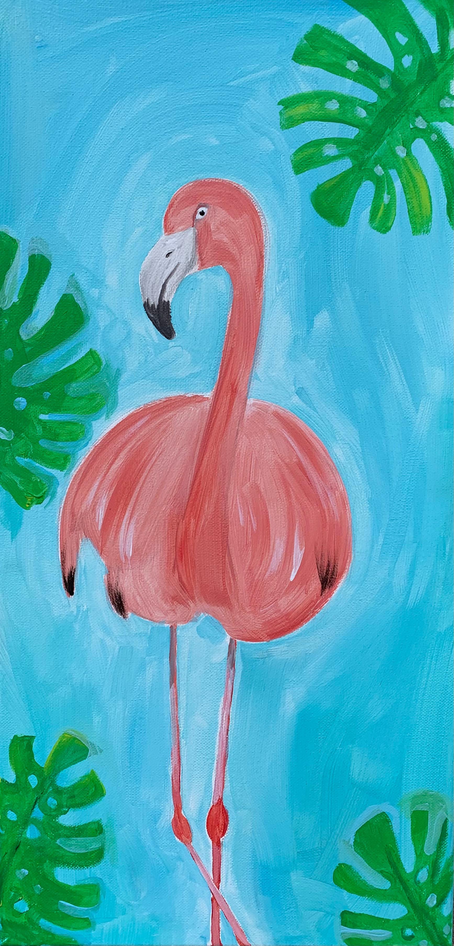 Paint a Flamingo