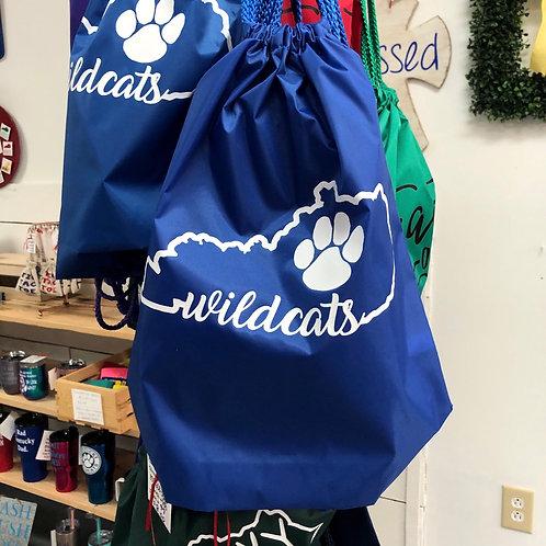 Wildcats Drawstring Bag