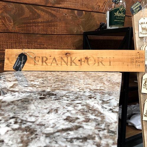 Frankfort Plank