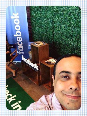 Marcando presença no evento #ImpulsioneSeuNegócio do #Facebook!