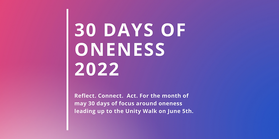 30 Days of Oneness 2022