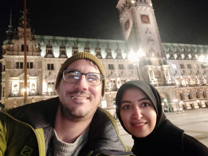 Dimitrios and Najmeh at HullPIC 2020-Hamburg