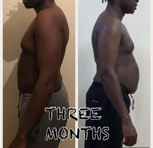 Before & After   Shiv Simani Fitness