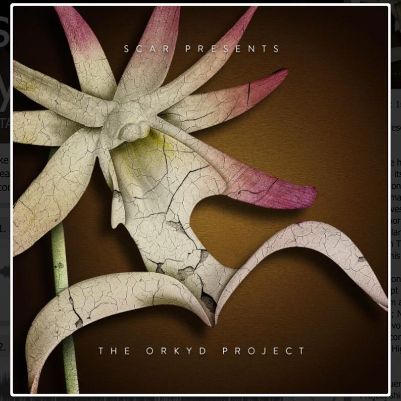 Metalheadz Artist Scar Presents The Orchyd Project