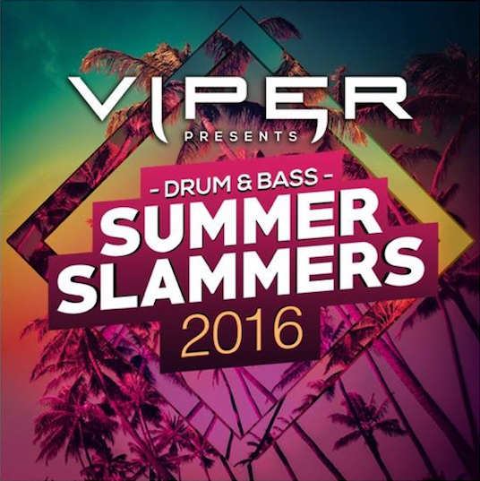 Viper Recordings Summer Slammers drum and bass dnbunited