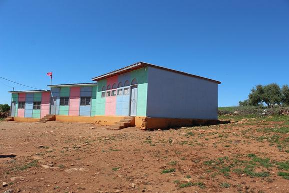 Construction d'un bloc sanitaire dans l'école primaire de Tijout, Commune rurale d'Aït Seghrouchen au Maroc