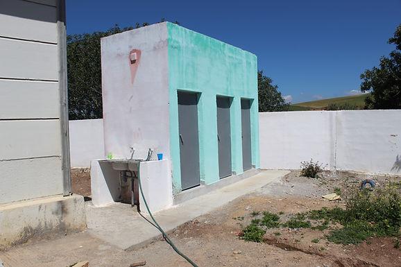 Adduction d'eau dans l'école de Laâzib, Commune rurale d'Aït Seghrouchen au Maroc