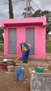 Construction d'un bloc sanitaire dans l'école Aïn Zqqour, Commune rurale Aït Seghrouchen au Maroc