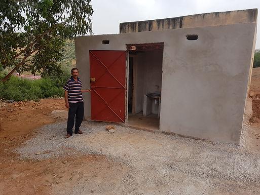 Construction d'un bloc sanitaire dans l'école de Mchra Ichidarn, Commune rurale d'aït Seghrouchen au Maroc