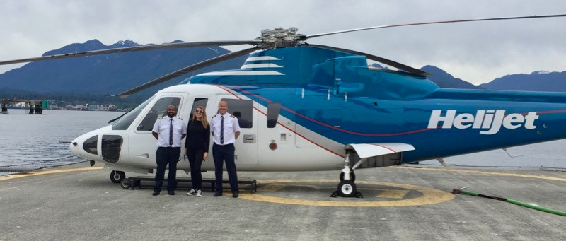 Traveling in style with Helijet Vancouver