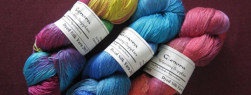 Silk Yarn 20/2 Variegated