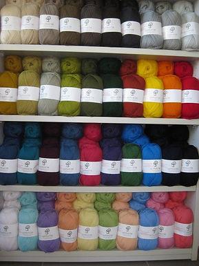 DK wool yarn