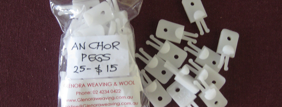 Anchor Pegs (for heald cord)