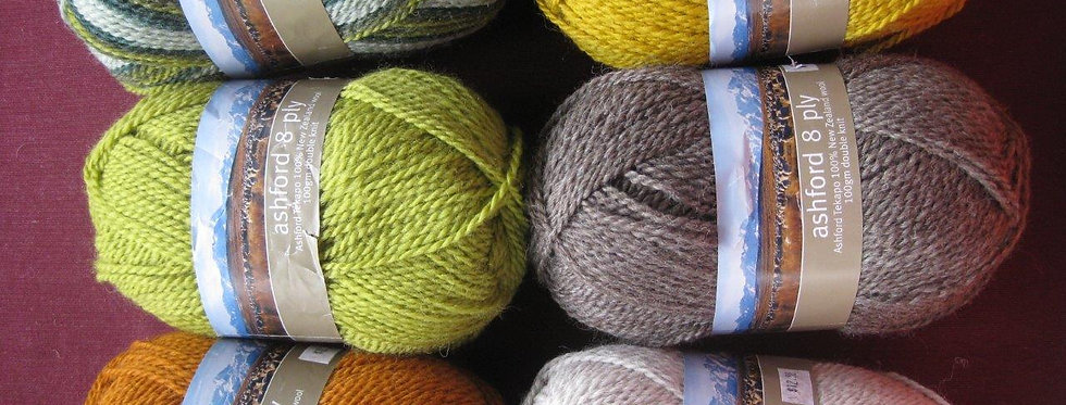Ashford Wool 8 Ply