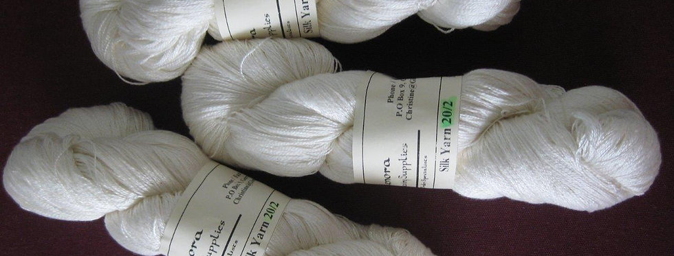 Silk Yarn 20/2 - Undyed