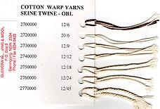 Cotton Warp Yarns OBL