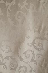 silverwhite taffeta with fleur-de-lis pa