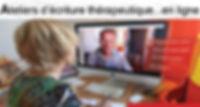 Atelier écriture en ligne avril 2020
