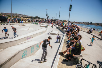 Skatepark de Quintero acoge nueva fecha de Monster Energy Rey de Reyes On Tour