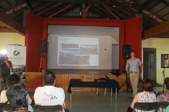 Presentan proyecto Borde Costero a la comunidad de Quintero y Loncura