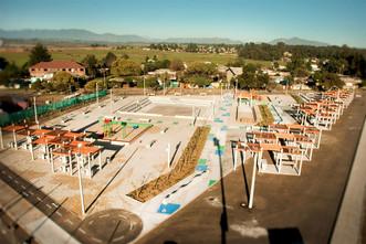Centro Cívico de Loncura se consolida como importante espacio comunitario y urbanístico