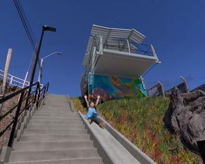 Vecinos de Loncura contarán con nuevo mirador y escalera que los conectará con paseo costero