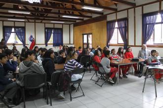 Jóvenes proponen sus ideas para el nuevo Parque Municipal