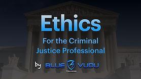 Criminal Justice Ethics Slideshow-Cover