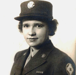 Virginia May Tomlin Davis, WWII