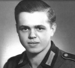 Franz Gockel German Solider WWII
