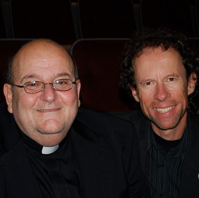 Father Tom DiLorenzo and Larry Cappetto