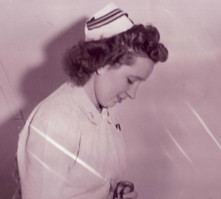 EVA JANE BOLENTS, WWII NURSE