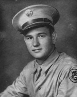Clyde Hogue WWII