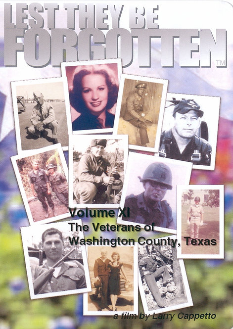 Lest They Be Forgotten - TEXAS