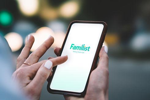 עיון באפליקציית פמיליסט