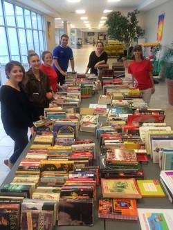 Rotaract with Books