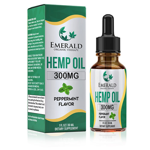 Hemp derived Oil - 300mg
