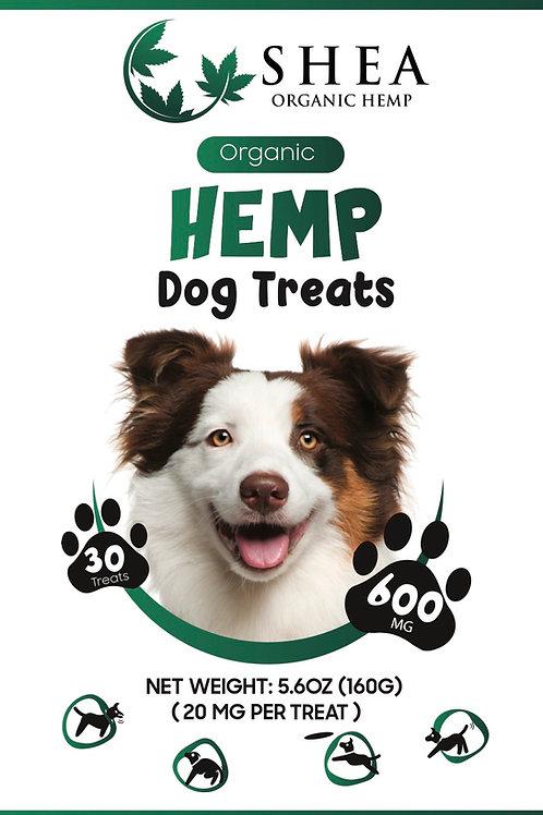 Organic Hemp Dog Treats