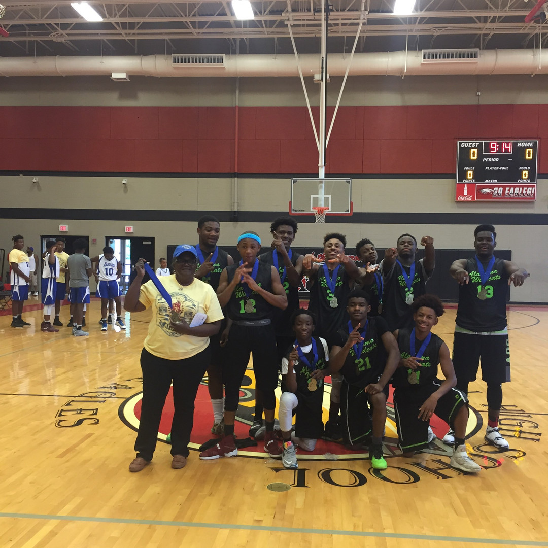 Gold Medal winners of Alabama State Games 2016