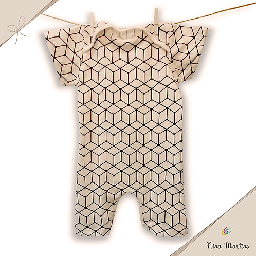 Macacão Geométrico