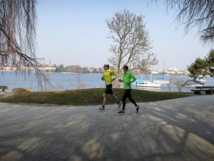 Läufer-Expo Züri Marathon 2014