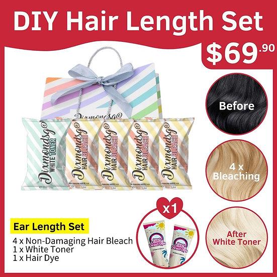 Dixmondsg Hair Length Set - Ear Length
