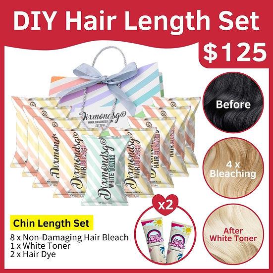 Dixmondsg Hair Length Set - Chin Length