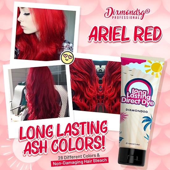 Dixmondsg Ariel Red Hair Dye