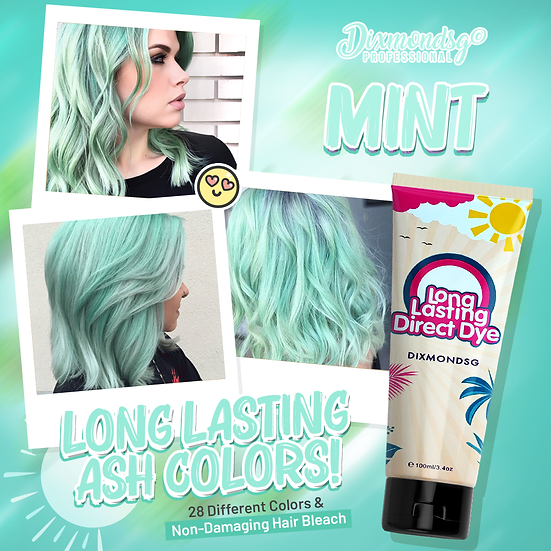 Dixmondsg Mint Hair Dye